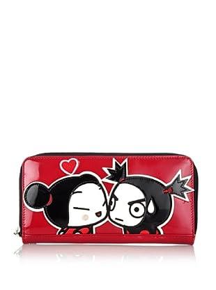 Hoy Collection Portafoglio Priscilla Pucca Love Story (Rosso)