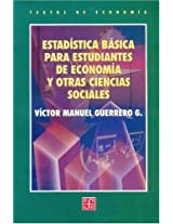 Estadistica basica para estudiantes de economia y otras ciencias sociales/ Basic Statistics for economy students and other social sciences: 0 (Educacion y Pedagogia)