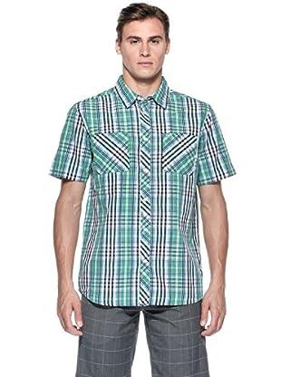 Rip Curl Camicia Gabe Ss Shirt (Verde)