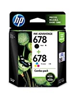HP 678 Combo-pack Black / Tri-color Ink Cartridges (E5Z15AA)
