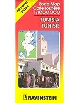 Tunisia Map (Ravenstein International Maps)