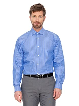 Cortefiel Camisa Rayas (Azulón / Blanco)