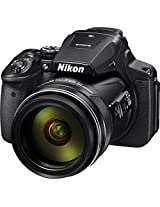 Nikon Coolpix P900 16 MP Point and Shoot Camera (Black) with 83x Optical Zoom, Camera Case