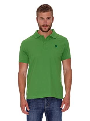 Polo Club Polo Custom Fit Escudo Liso (Verde)