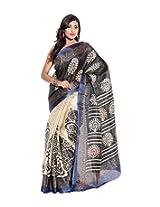 Aaditri Fashions Bhagalpuri Printed Saree
