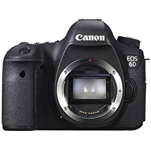 Canon デジタル一眼レフカメラ EOS 6Dボディ 約2020万画素フルサイズCMOSセンサー DIGIC5+(プラス) EOS6D