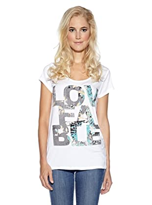 Cream T-Shirt Loveabel (Weiß)
