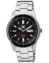 Seiko 5 Analog Black Dial Men's Watch - SNKN15K1