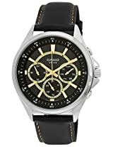Casio Enticer  Analog Black Dial Men's Watch - MTP-E303L-1AVDF( A961)