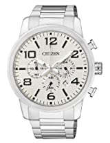 Citizen Analog White Dial Men's Watch - AN8050-51A