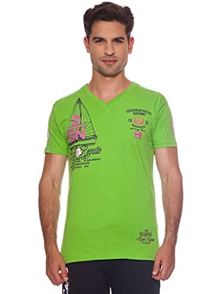 Geographical Norway Camiseta Jutty (Verde)