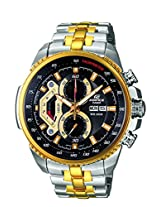 Casio Edifice Tachymeter Chronograph Black Dial Men's Watch - EF-558SG-1AVDF (ED439)