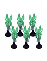 Artificial Toy Plastic Project Trees : 6 Pcs : 3.5 Inch (coconet tree)
