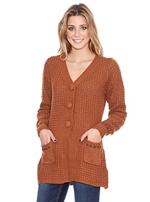HHG Strickjacke Mabel (Braun)