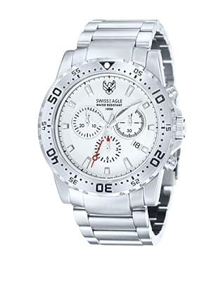 Swiss Eagle Reloj Cronógrafo Dive Metalizado