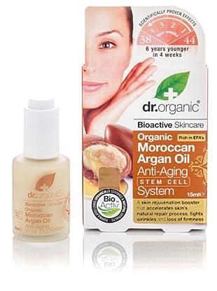 Dr.Organic Elixir Facial Anti-edad de Argán 15 ml