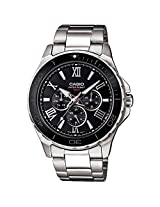 Casio Enticer Black Dial Men's Watch - MTD-1075D-1A1VDF (A788)