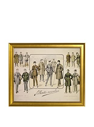 Gargoyles Ltd. Antique Replica Men's Suits Framed Art, 16