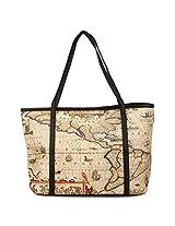 Vero Couture Tote Bag (Beige)