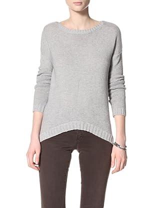 Acrobat Women's Mix Stitch Boat Neck Sweater (Sweatshirt)