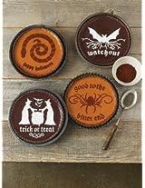 Martha Stewart Crafts Halloween Phrase Cake Stencils