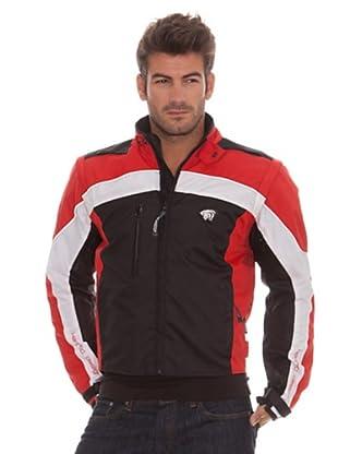Kenrod Chaqueta Cro (negro / rojo / blanco)