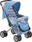 Luvlap Baby Stroller 99-1 - Star Shine (Sky Blue)