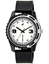 Fastrack Casual Analog White Dial Men's Watch - 3114PP01