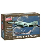 Minicraft F-4E Phantom ADC/RAF Model Kit, 1/144 Scale