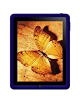 Amzer Silicone Skin Jelly Case for Apple iPad Tablet,(Blue)