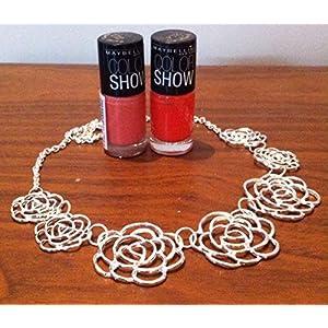 Cupkin Accessories A Floral Filigree Neckpiece Necklace