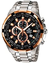 Casio Edifice Chronograph Black Dial Men's Watch - EF-539D-4AVDF (EX002)