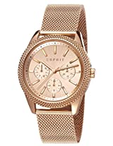 Esprit Analog Pink Dial Women's Watch - ES107732005