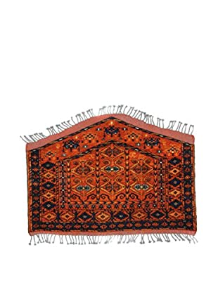 L'Eden del Tappeto Teppich Ersari rot/blau 118t x t83 cm