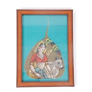 Creative Box Leaf Painting - Village Belle