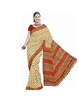 Designer Kota Doria Bagru Print Cotton Saree Jaipuri Cotton Saree Sku Dli3Srj194
