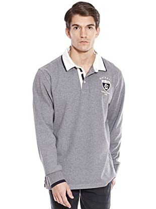Hackett Polo Casual (Gris)