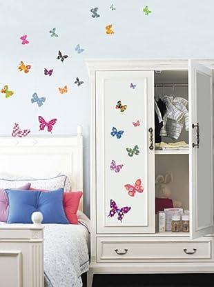 Vinilo Mariposas Multicolores