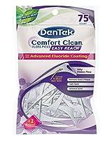 Comfort Clean® Back Teeth Floss Picks 75-Count (Pack of 6)