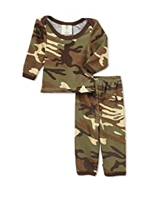 Madboy Baby Long Sleeve Tee and Legging Set (Vintage Camo)