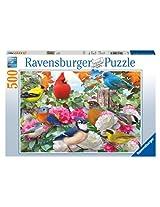 Ravensburger Garden Birds Puzzle (500 Piece )