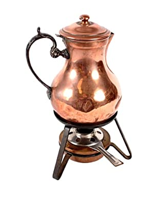 Vintage Belgian Copper Tea Pot