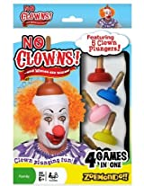 No Clowns Plunger Card Game by Zobmondo