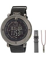 Vestal Men's GDEDP08 Guide Digital Display Quartz Black Watch