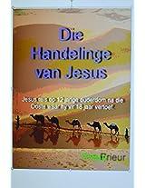 Die Handelinge van Jesus (Afrikaans Edition)