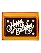 Happy Birthday Greeting Chocolate - 160 grams