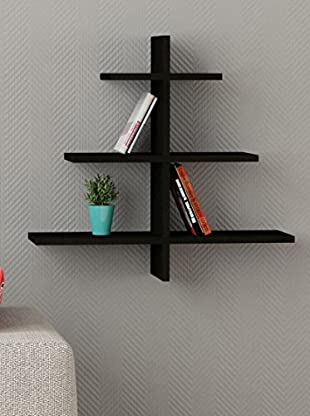 Decortie by Homemania Estante Albero (Negro)