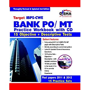 Target IBPS - CWE Bank PO/MT Exam Practice Workbook for Objective & Descriptive Test (With CD)