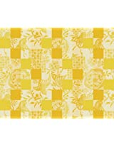 Garnier Thiebaut 100% Cotton Jacquard Set Of Four Placemats Mille Birds Sunny