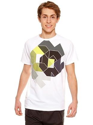 Kelme Camiseta Manga Corta Jero (Blanco)